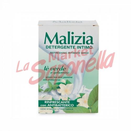 Detergent intim cu ceai verde si iasomie Malizia – 200ml